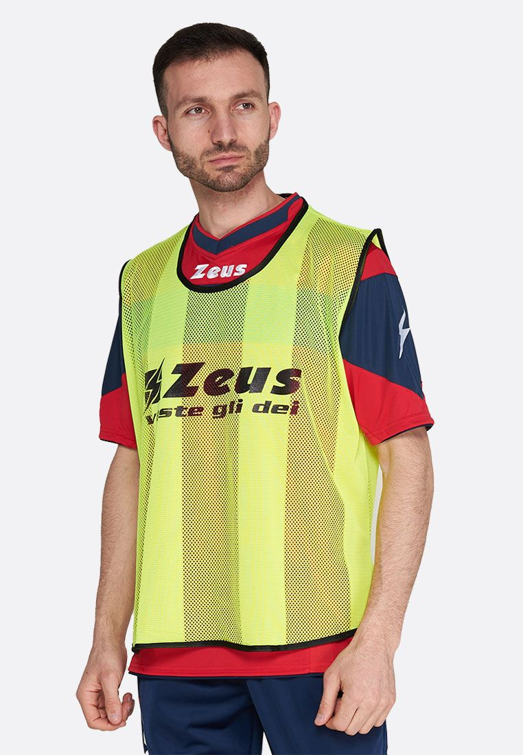 Манишка футбольная Zeus CASACCA PROMO GIALL Z00094
