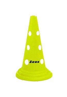 Кольца для развития координации Zeus SET CERCHI PVC 60 CM PIATTI 12 PZ (Комплект,12 штук) Z00383 Конусы для перекладин Zeus CONI H 50-PZ 10 (Комплект,10 шт.) Z00102