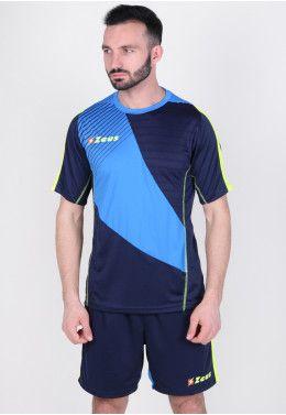 Футбольная форма (шорты, футболка) Zeus KIT ALEX BL/RO Z00169