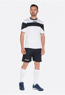 Футбольная форма (шорты, футболка) Zeus KIT LYBRA UOMO BL/LR Z00234 Футбольная форма (шорты, футболка) Zeus KIT APOLLO BI/NE Z00171