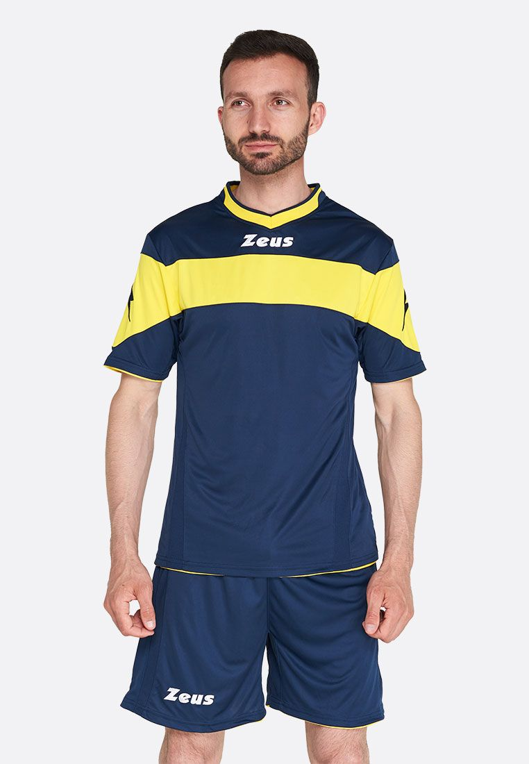 Футбольная форма (шорты, футболка) Zeus KIT APOLLO BL/GI Z00173