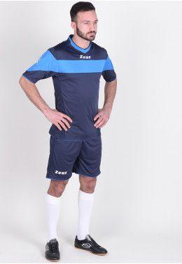 Футболка футбольная Zeus SHIRT MIDA RO/BI Z01240 Футбольная форма (шорты, футболка) Zeus KIT APOLLO BL/RO Z00175