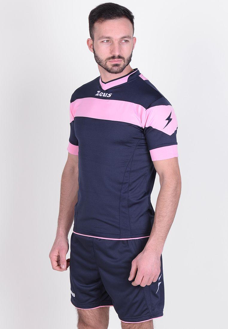 Футбольная форма (шорты, футболка) Zeus KIT APOLLO BL/RS Z00176