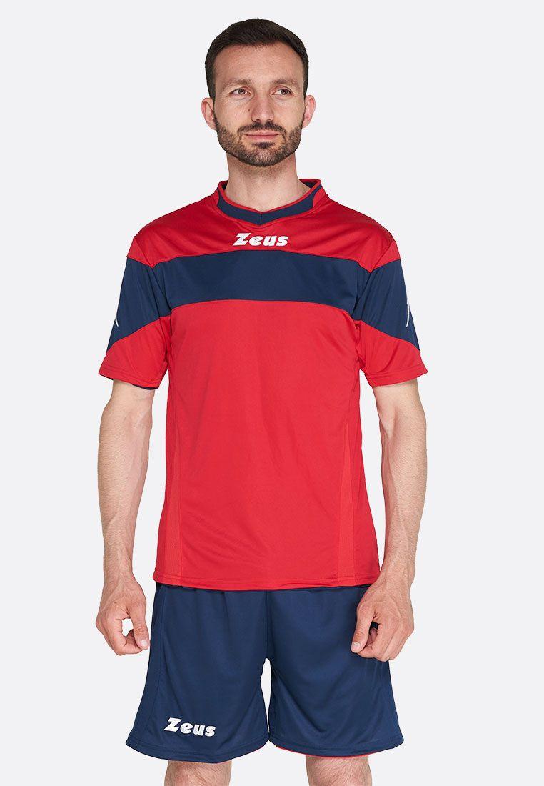 Футбольная форма (шорты, футболка) Zeus KIT APOLLO RE/BL Z00180