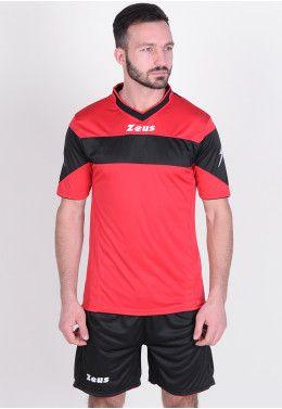 Футбольная форма (шорты, футболка) Zeus KIT PROMO ROSSO Z00264 Футбольная форма (шорты, футболка) Zeus KIT APOLLO RE/NE Z00181