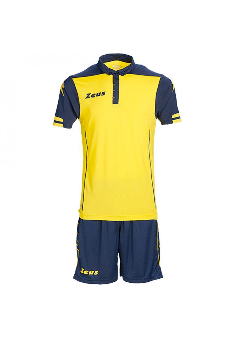Футбольная форма (шорты, футболка) Zeus KIT AQUARIUS GI/BL Z00185
