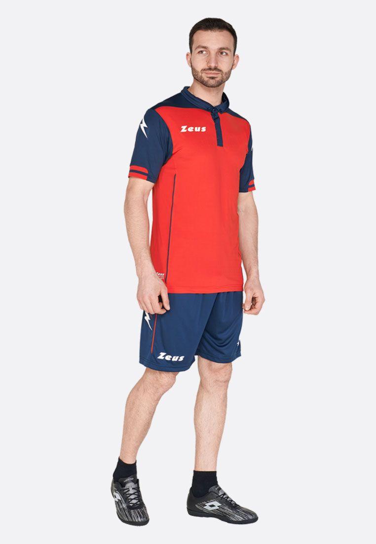 Футбольная форма (шорты, футболка) Zeus KIT AQUARIUS RE/BL Z00190