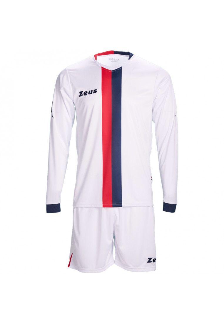 Футбольная форма (шорты, футболка длинный рукав) Zeus KIT B-NARIO NEW BL/RE Z00193