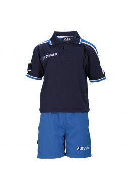 Мужские поло Тенниска (+ шорты) Zeus KIT CITY BL/RO Z00199