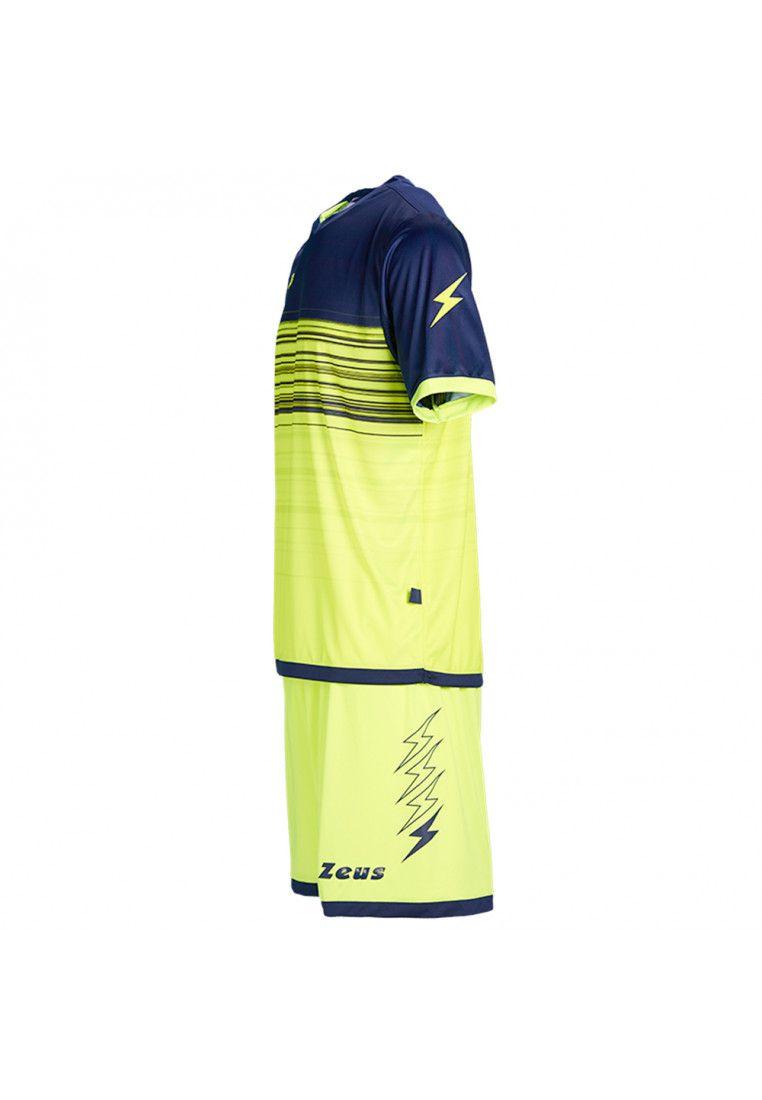 Футбольная форма (шорты, футболка) Zeus KIT ELIO GF/BL Z00206