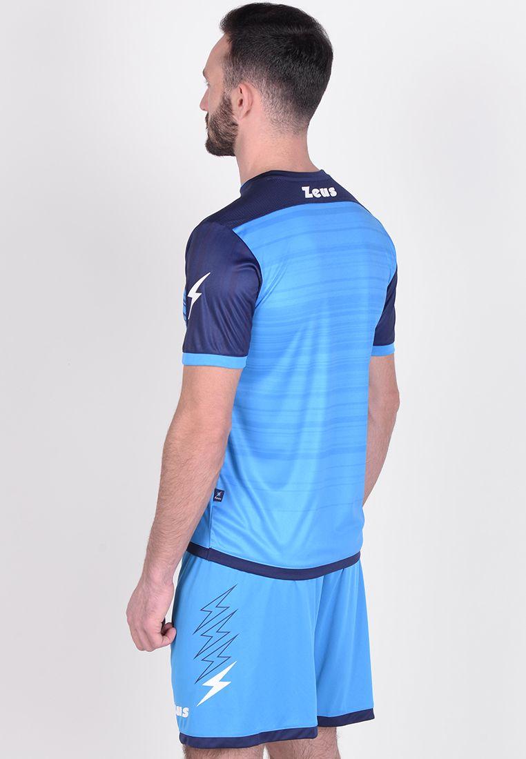 Футбольная форма (шорты, футболка) Zeus KIT ELIO LR/BL Z00208
