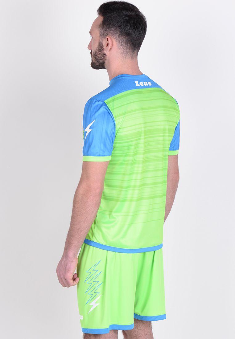Футбольная форма (шорты, футболка) Zeus KIT ELIO LR/VF Z00209