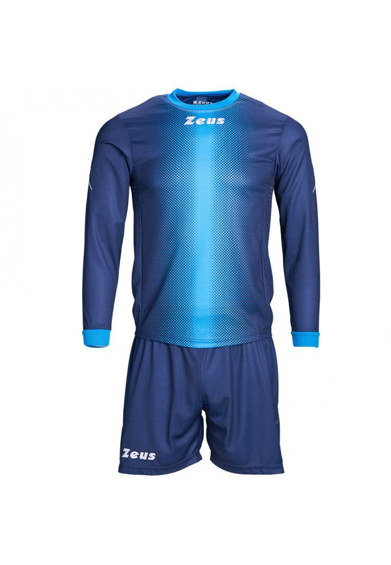 Футбольная форма (шорты, футболка длинный рукав) Zeus KIT ERCOLE BL/RO Z00213