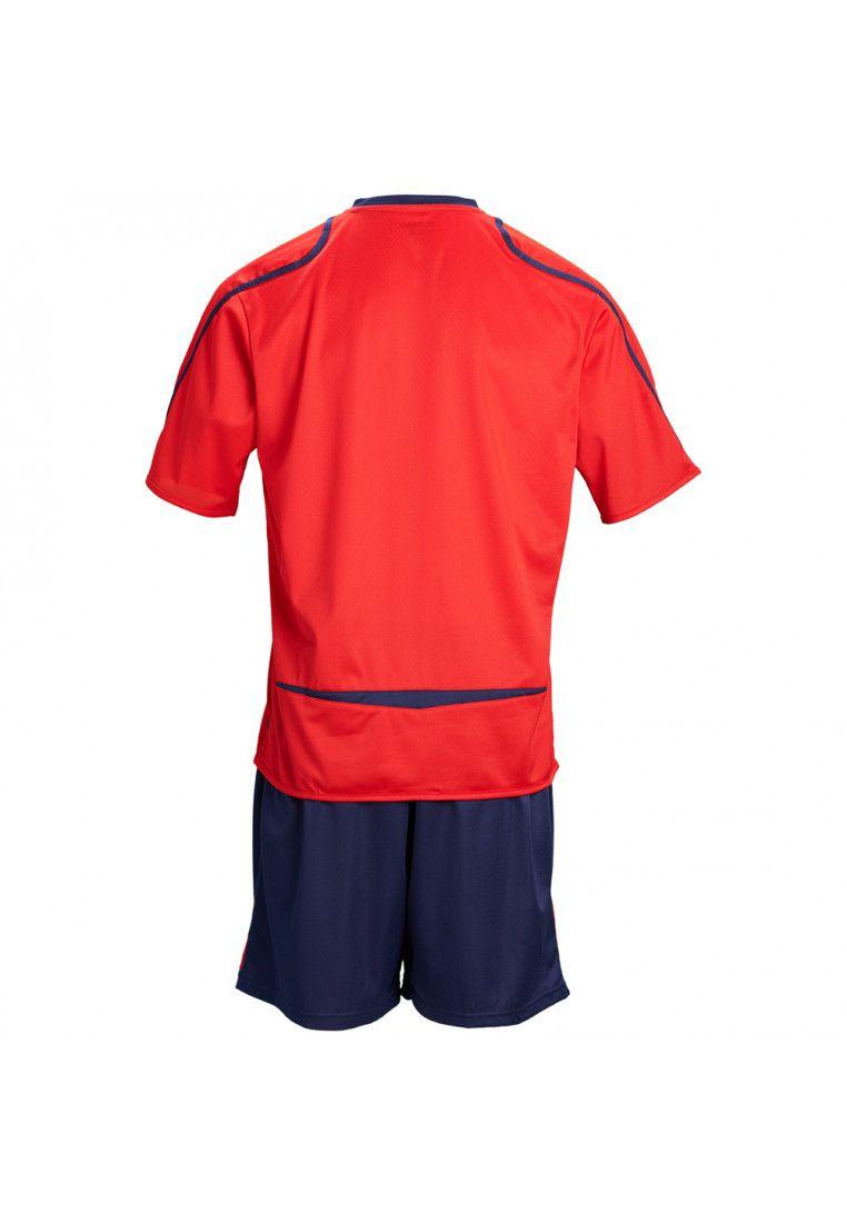 Футбольная форма (шорты, футболка) Zeus KIT FAUNO M/C BL/RE Z00215