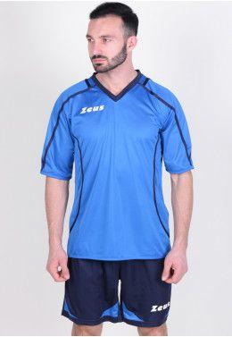 Футбольная форма Футбольная форма (шорты, футболка) Zeus KIT FAUNO M/C BL/RO Z00216