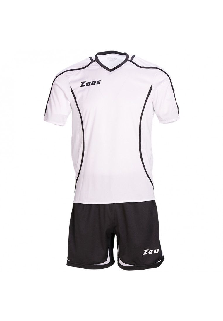Футбольная форма (шорты, футболка) Zeus KIT FAUNO M/C NE/BI Z00217