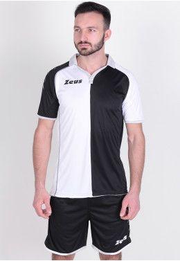 Футбольная форма Футбольная форма (шорты, футболка) Zeus KIT GRYFON BI/NE Z00219