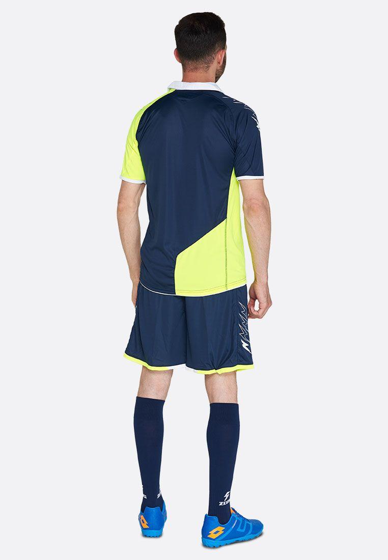 Футбольная форма (шорты, футболка) Zeus KIT GRYFON GF/BL Z00221
