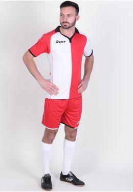 Футбольная форма (шорты, футболка) Zeus KIT GRYFON RE/BI Z00223