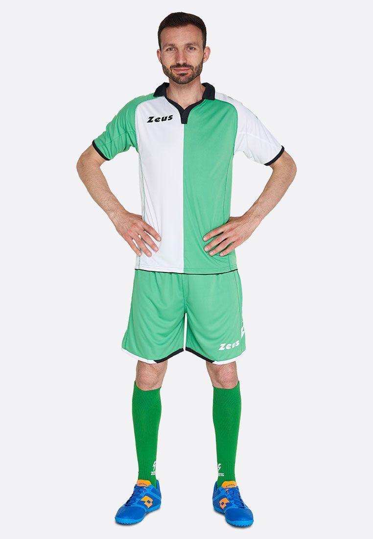 Футбольная форма (шорты, футболка) Zeus KIT GRYFON VE/BI Z00225