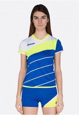 Волейбольная форма (шорты, футболка) Zeus KIT KLIMA BI/BL Z00689 Волейбольная форма (шорты, футболка) Zeus KIT LYBRA DONNA ER/FL Z00229