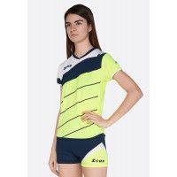 Волейбольная форма (шорты, футболка) Zeus KIT LYBRA DONNA FL/BL Z00230