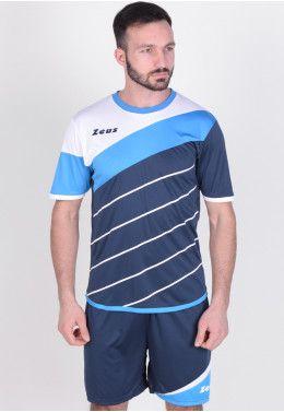 Футбольная форма (шорты, футболка длинный рукав) Zeus KIT ULYSSE M/L RO/BL Z00301 Футбольная форма (шорты, футболка) Zeus KIT LYBRA UOMO BL/LR Z00234