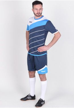 Футбольная форма Футбольная форма (шорты, футболка) Zeus KIT LYBRA UOMO BL/LR Z00234