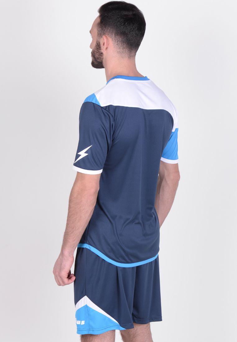 Футбольная форма (шорты, футболка) Zeus KIT LYBRA UOMO BL/LR Z00234