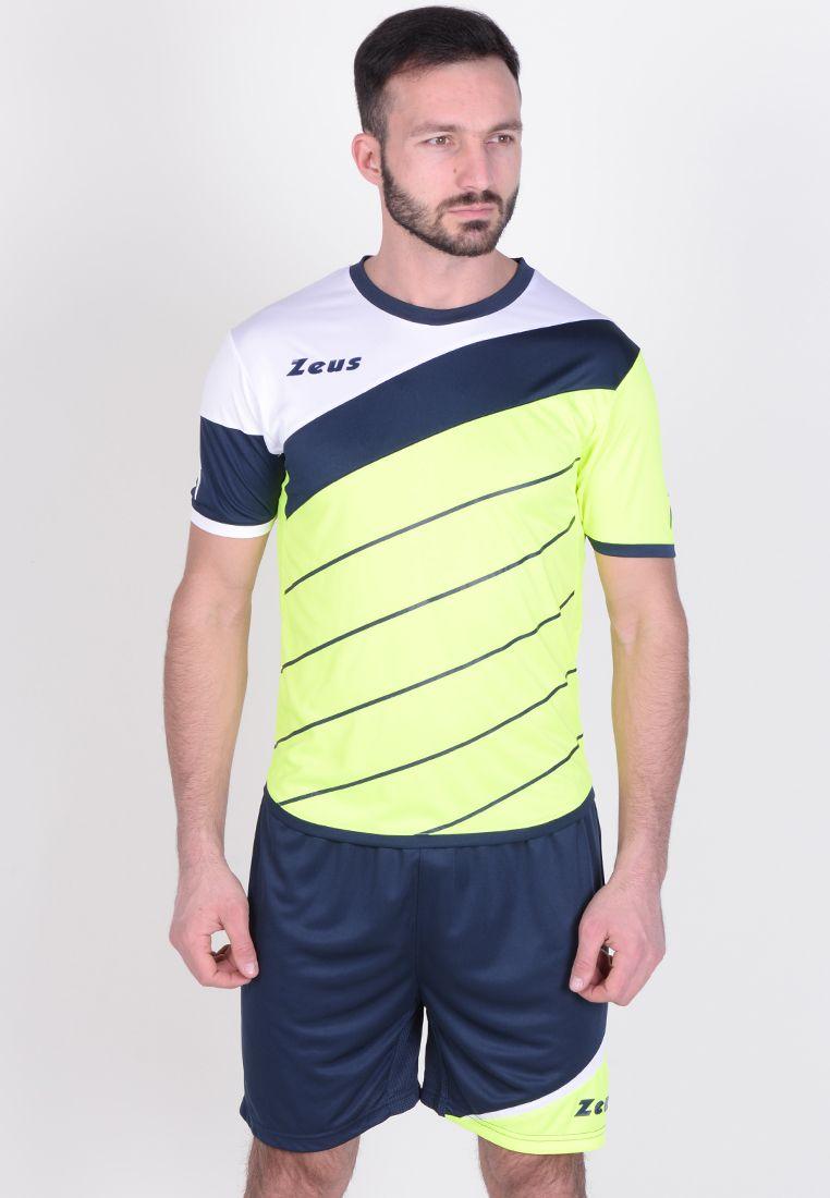 Футбольная форма (шорты, футболка) Zeus KIT LYBRA UOMO FL/BL Z00236