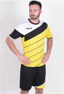 Футбольная форма (шорты, футболка) Zeus KIT LYBRA UOMO GI/NE Z00237