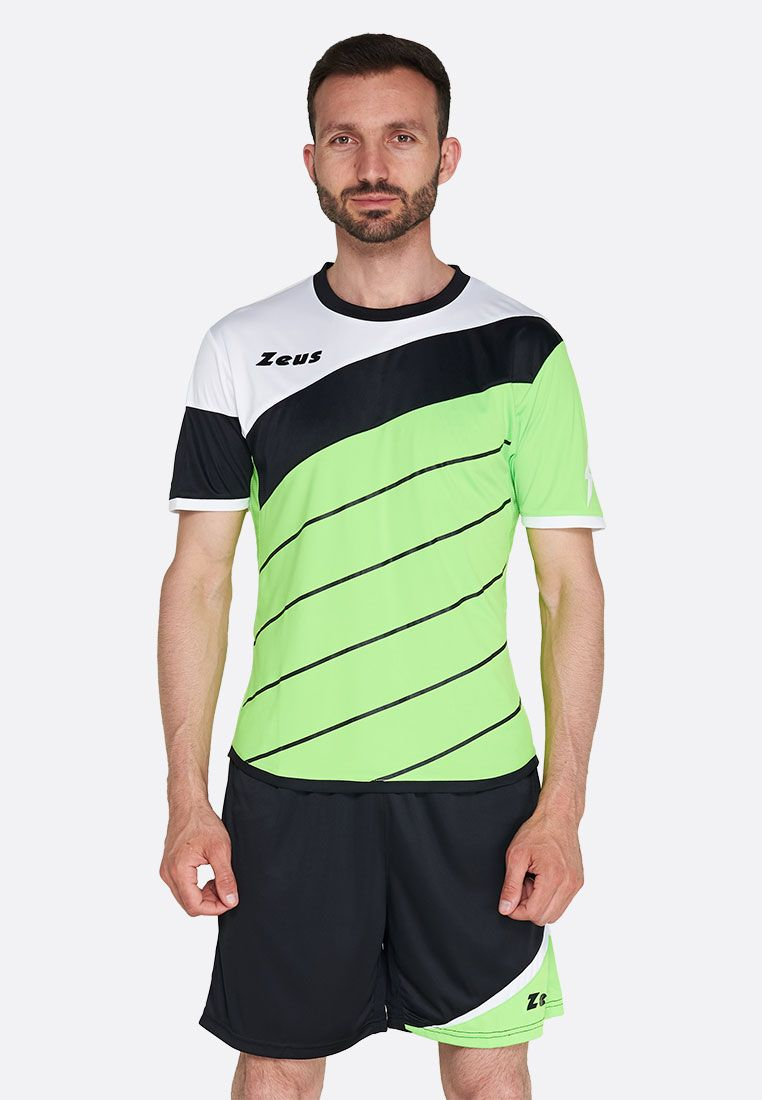Футбольная форма (шорты, футболка) Zeus KIT LYBRA UOMO VE/NE Z00240