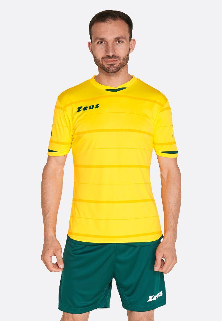 Футбольная форма (шорты, футболка) Zeus KIT OMEGA GI/VE Z00244