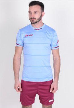 Футбольная форма (шорты, футболка) Zeus KIT OMEGA SK/GN Z00246