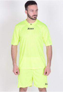 Футбольная форма (шорты, футболка) Zeus KIT SCORPION GI/BL Z00270 Футбольная форма (шорты, футболка) Zeus KIT PROMO GIAFL Z00262