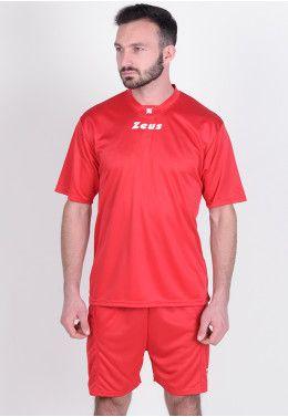 Футбольная форма (шорты, футболка длинный рукав) Zeus KIT ERCOLE VE/VE Z00497 Футбольная форма (шорты, футболка) Zeus KIT PROMO ROSSO Z00264