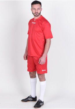 Игровая спортивная форма Футбольная форма (шорты, футболка) Zeus KIT PROMO ROSSO Z00264