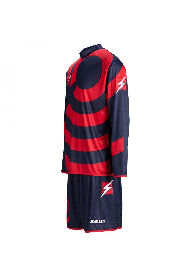 Футбольная форма (шорты, футболка длинный рукав) Zeus KIT RING BL/RE Z00266