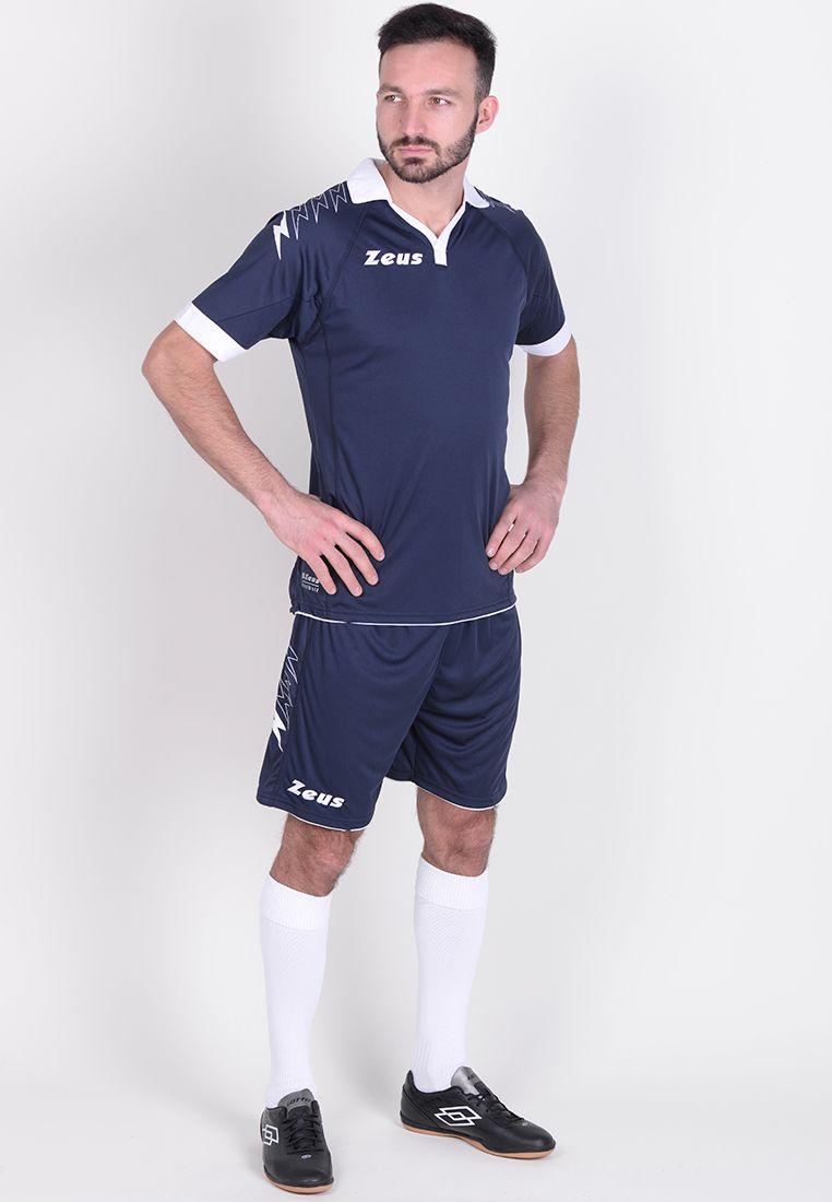 Футбольная форма (шорты, футболка) Zeus KIT SCORPION BL/BI Z00269