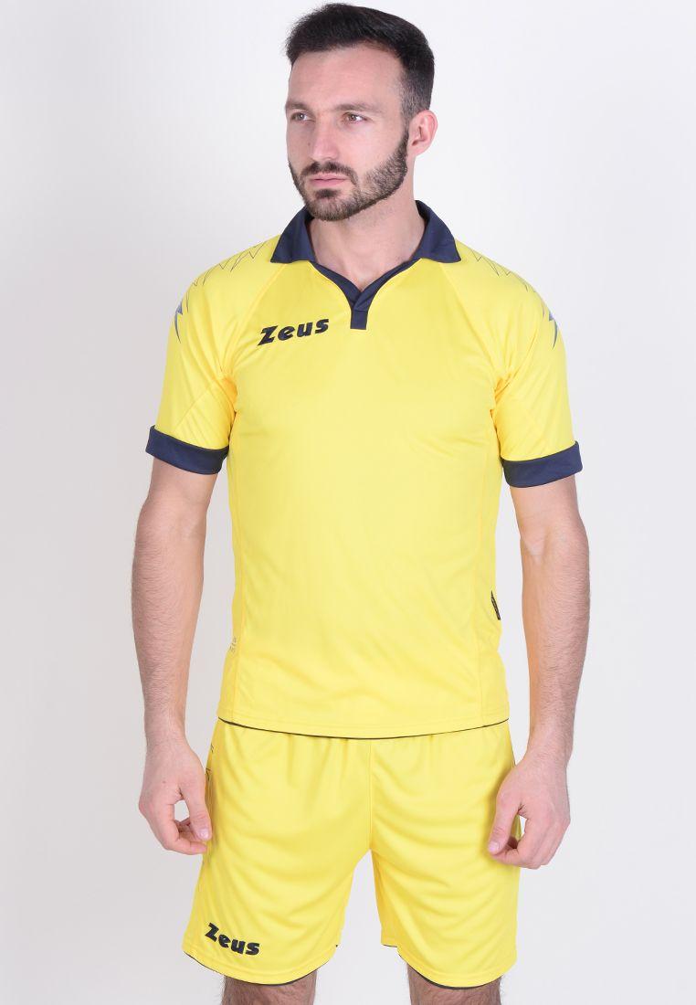 Футбольная форма (шорты, футболка) Zeus KIT SCORPION GI/BL Z00270