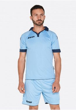 Футбольная форма (шорты, футболка) Zeus KIT SCORPION SK/BL Z00275