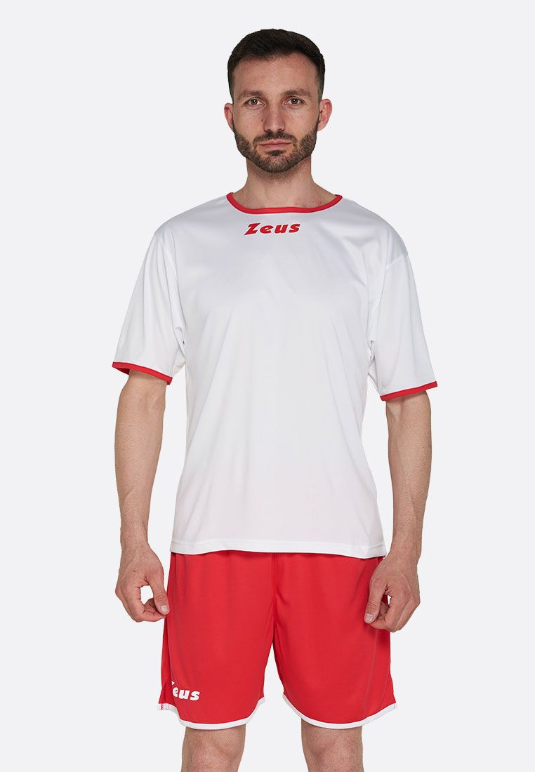 Футбольная форма (шорты, футболка) Zeus KIT STICKER BI/RE Z00287