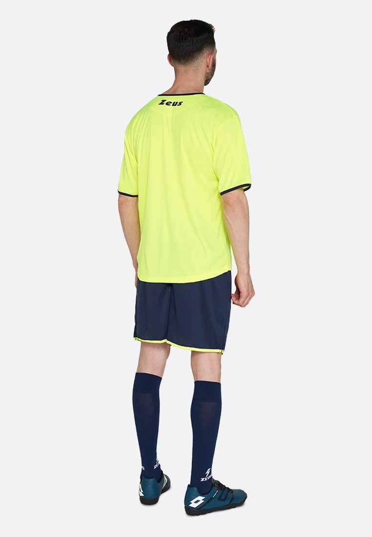 Футбольная форма (шорты, футболка) Zeus KIT STICKER FL/BL Z00288