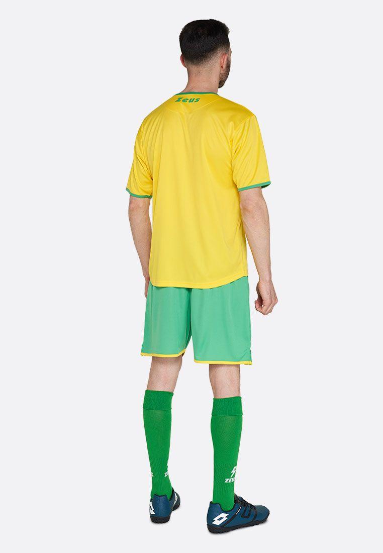Футбольная форма (шорты, футболка) Zeus KIT STICKER GI/VE Z00289