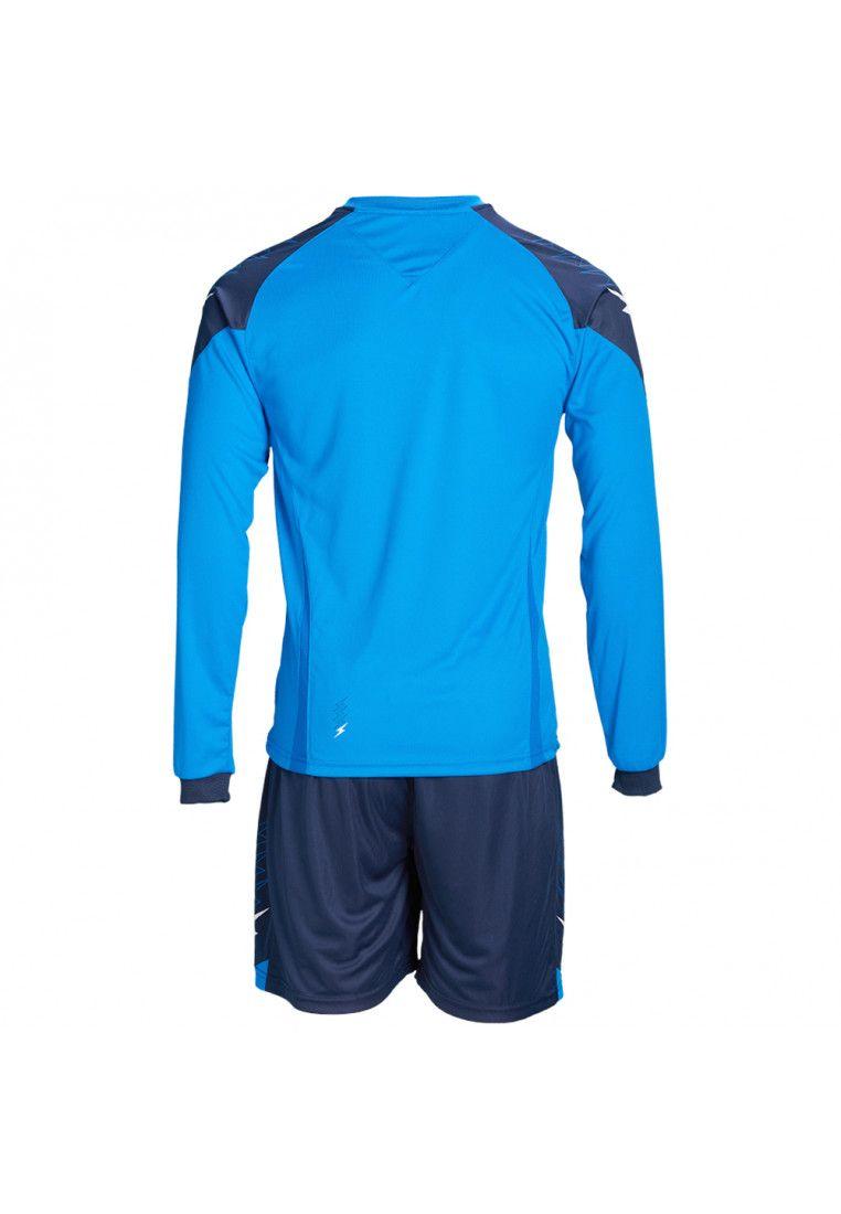 Футбольная форма (шорты, футболка длинный рукав) Zeus KIT ULYSSE M/L RO/BL Z00301