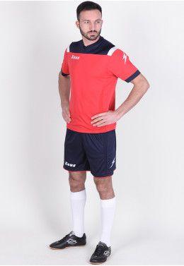 Футбольная форма (шорты, футболка) Zeus KIT AQUARIUS RE/BI Z00189 Футбольная форма (шорты, футболка) Zeus KIT VESUVIO BL/RE Z00302