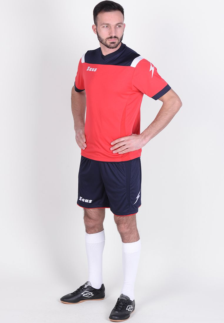 Футбольная форма (шорты, футболка) Zeus KIT VESUVIO BL/RE Z00302