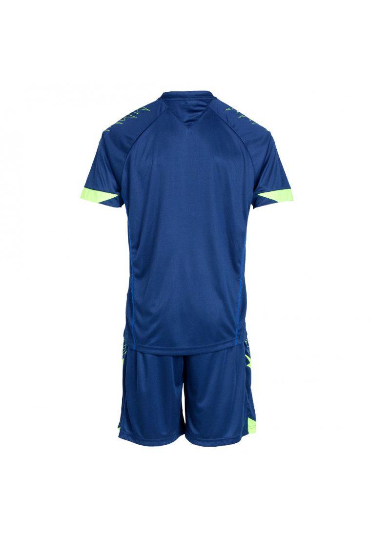 Футбольная форма (шорты, футболка) Zeus KIT VIRGO BL/RO Z00304