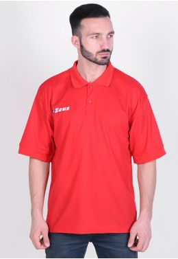 Спортивный костюм Zeus TUTA TRAINING ULYSSE BL/RE Z00468 Тенниска Zeus POLO BASIC M/C ROSSO Z00367