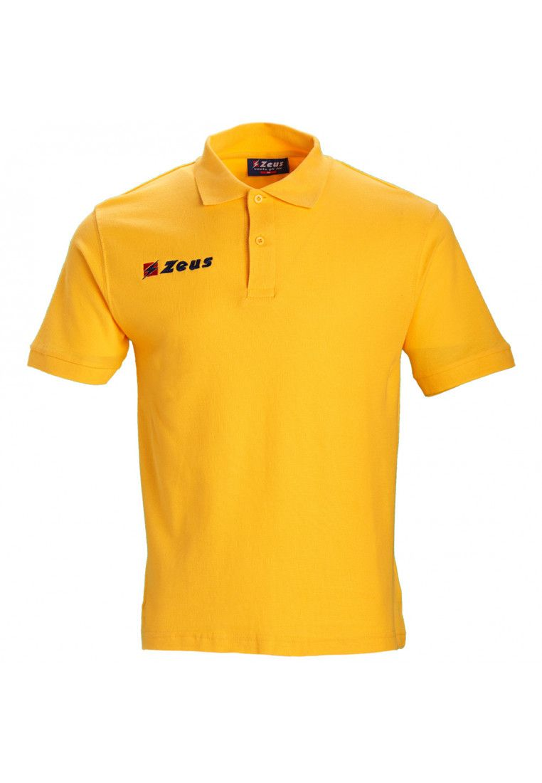Тенниска Zeus POLO BASIC OLD M/C GIALL Z00372